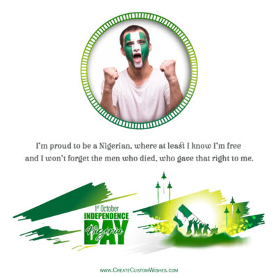 Nigeria Independence Day Wishes with Photo