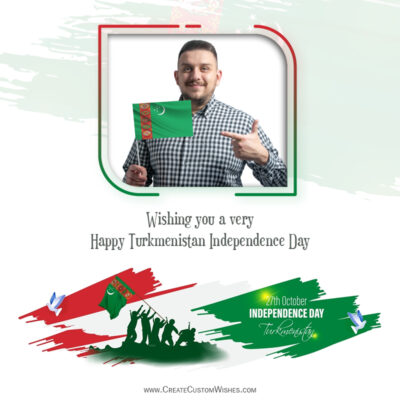 Turkmenistan Independence Day Wishes with Photo