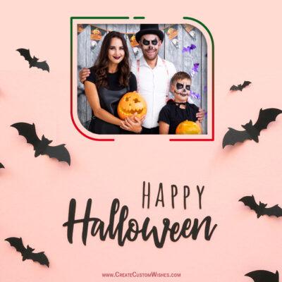 Create Halloween Wishes with my Photo