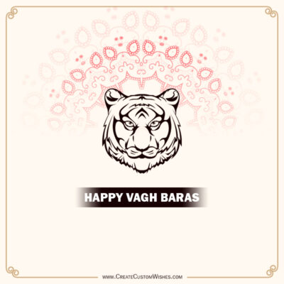 Create Vagh Baras Wishes for Company