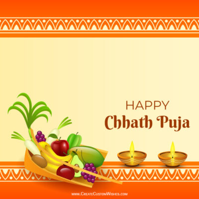 Greeting Cards for Chhath Puja 2021