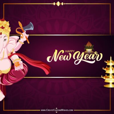 Greeting Cards for Hindu New Year 2021