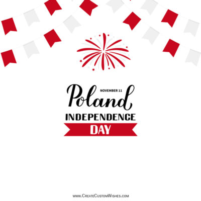 Greeting Cards for Poland Independence Day 2021