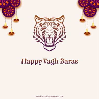 Greeting Cards for Vagh Baras 2021